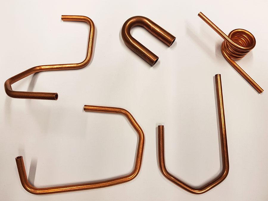 bended tubes bending curvature